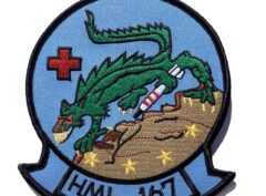 HML-167 Warriors Patch – Sew On
