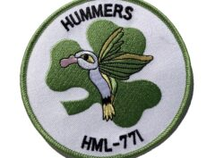 HML-771 Hummers Patch – Sew On