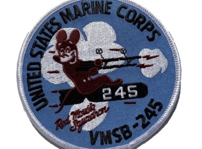 VMSB-245 Red Mousie Squadron Patch – Sew On