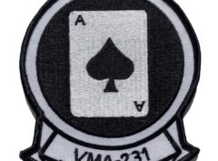 VMA-231 Squadron Patch – Plastic Backing