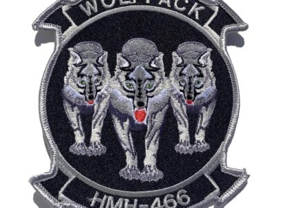 HMH-466 Wolfpack (3 Wolves) Patch – Sew On