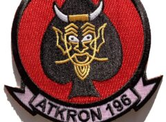 VA-196 Main Battery Squadron Patch – Sew On