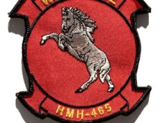 HMH-465 Warhorse (Red) Patch – Sew On