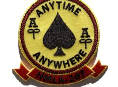 HMLA-267 Stingers Anytime Anywhere Patch – Sew On