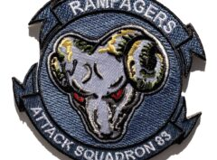 VA-83 Rampagers Squadron Patch – Sew On