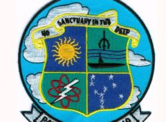 U.S. Navy VP-49 No Sanctuary in the Deep – Plastic Backing