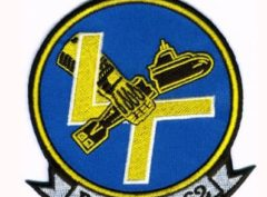 U.S. Navy VP-62 Broad Arrows Squadron Patch – Plastic Backing