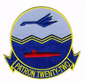 US NAVY VP-22 BLUE GEESE SQUADRON PATCH – Plastic Backing