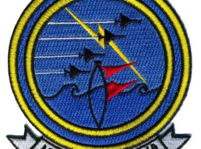 VA-210 Blackhawks Squadron Patch – Plastic Backing