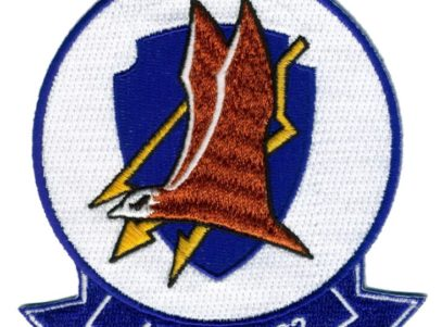 VA-82 Marauders Squadron Patch -Plastic backing