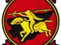 VA-87 Golden Warriors Squadron Patch – Plastic Backing