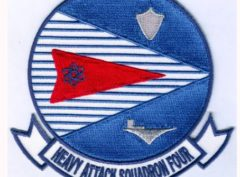 VAH-4 Four Runners Squadron Patch