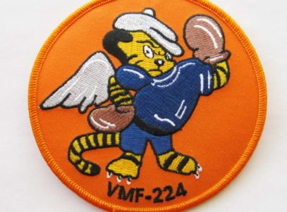 VMF-224 Squadron Patch – Plastic Backing