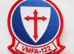 VMFA-122 Crusaders Patch – Plastic Backing