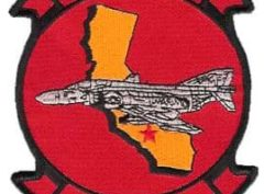 VMFA-134 Smoke Patch – Plastic Backing