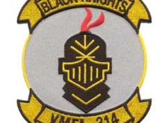 VMFA-314 Black Knights Patch – Plastic Backing