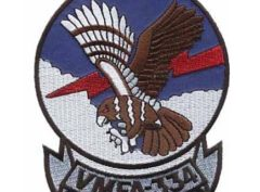 VMFA-334 Falcons Patch – Plastic Backing