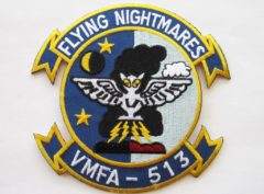 VMFA-513 Flying Nightmares Patch – Plastic Backing
