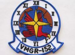VMGR-152 Sumos Patch – Plastic Backing