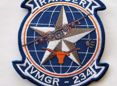 VMGR-234 Squadron Patch – Plastic Backing
