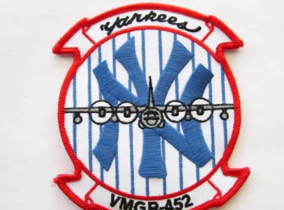 VMGR-452 Yankees Patch – Plastic Backing