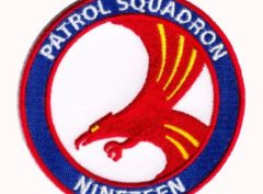 VP-19 Big Red Squadron Patch – Plastic Backing