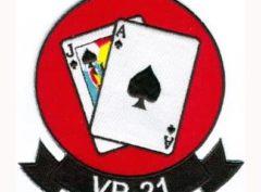 VP-21 Blackjacks Squadron Patch – Plastic Backing