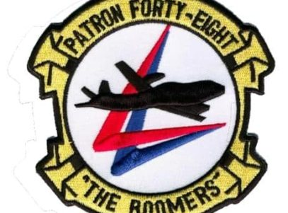 VP-48 Boomers Squadron Patch – Plastic Backing