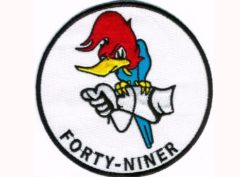 VP-49 Woodpeckers Squadron Patch – Plastic Backing