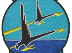 VP-7 Black Falcons Squadron Patch – Plastic Backing