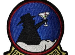 "VQ-4 ""Friday"" Martini Patch – Sew On"