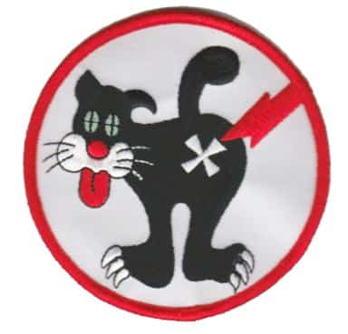 VS-24 Duty Cat Squadron Patch – Plastic Backing
