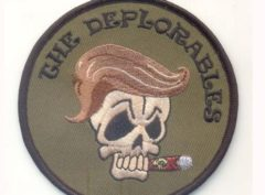 Deplorables Patch – Plastic Backing