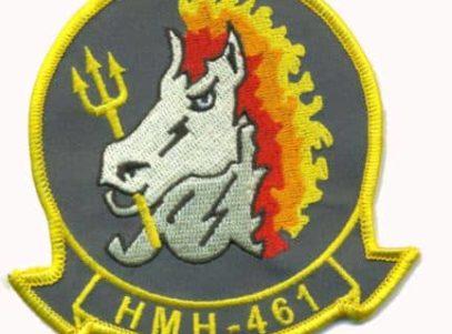 HMH-461 Ironhorse Patch – Plastic Backing