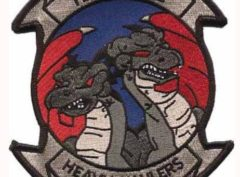 HMH-462 Heavy Haulers Patch – Plastic Backing