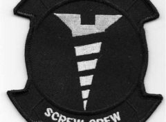 HMH-462 Heavy Haulers 'Screw Crew' Patch – Plastic Backing