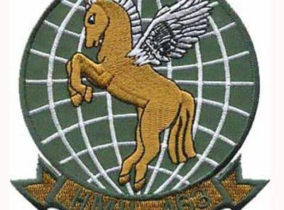 HMH-463 Pegasus Patch – Plastic Backing