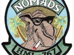 HML-767 Nomad Patch – Plastic Backing