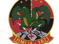 HMLA-167 Warriors Patch – Sew on
