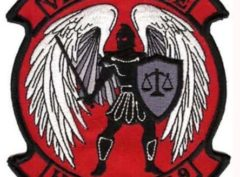 HMLA-469 Vengeance Patch – Plastic Backing