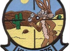 HMLA-775 Coyotes Patch – Plastic Backing