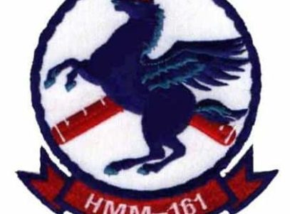 HMM-161 Greyhawks Patch – Plastic Backing