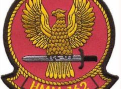 HMM-162 Golden Eagles Patch – Plastic Backing