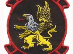 HMM-266 Fighting Griffiths Patch – Plastic Backing