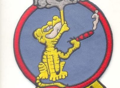 RVAH-1 Smokin Tigers Squadron Patch – Plastic Backing