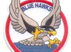 VA-72 Blue Hawks Squadron Patch – Plastic Backing