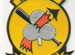 VF-103 Sluggers Squadron Patch – Plastic Backing