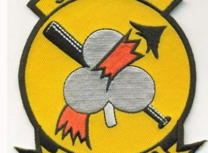 VF-103 Sluggers Squadron Patch – Plastic Backing
