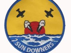 VF-111 SUNDOWNERS Squadron Patch – Plastic Backing