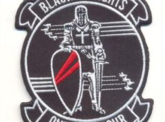 VF-154 Black Knights Squadron Patch – Plastic Backing